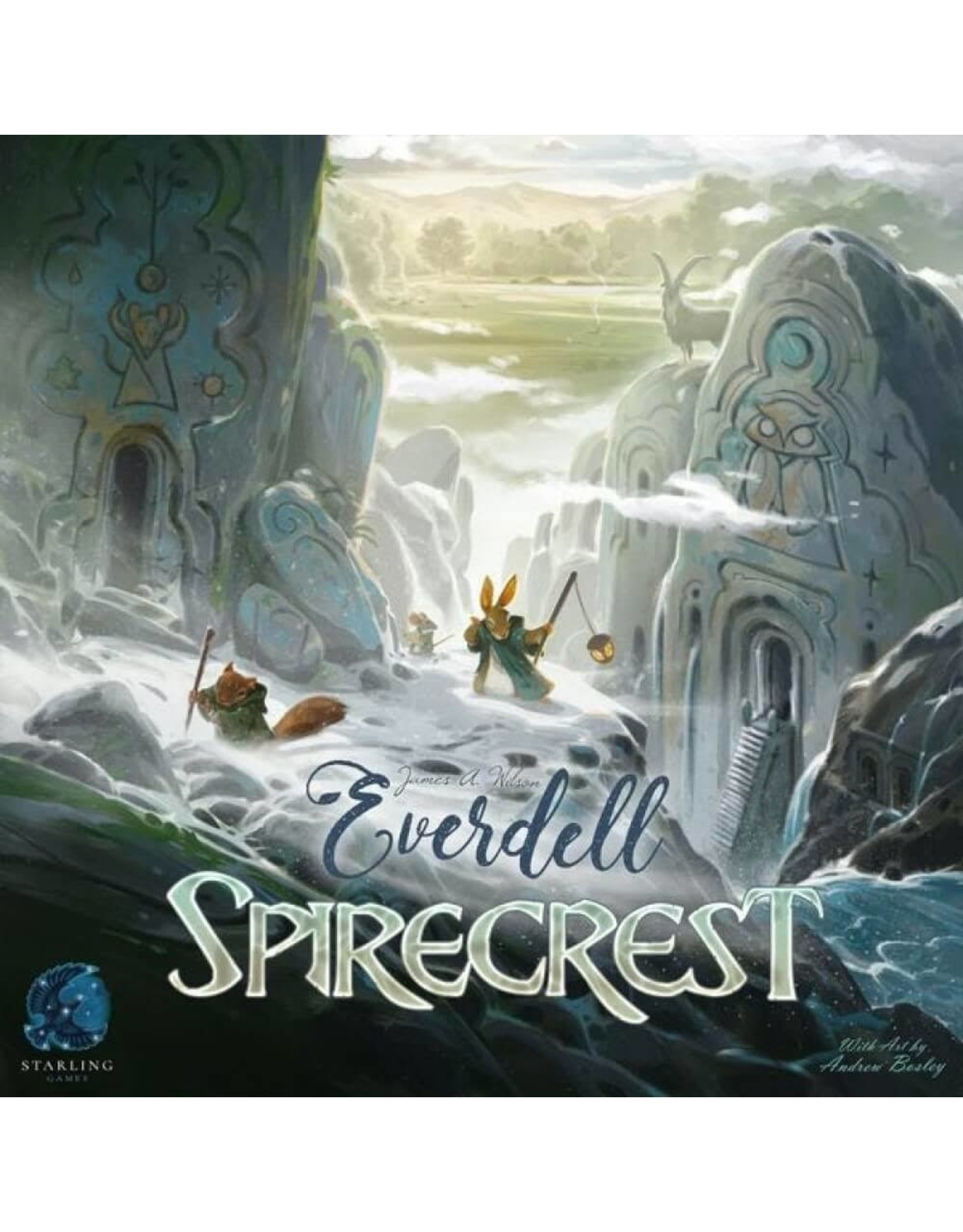Game Salute Everdell: Spirecrest Expansion