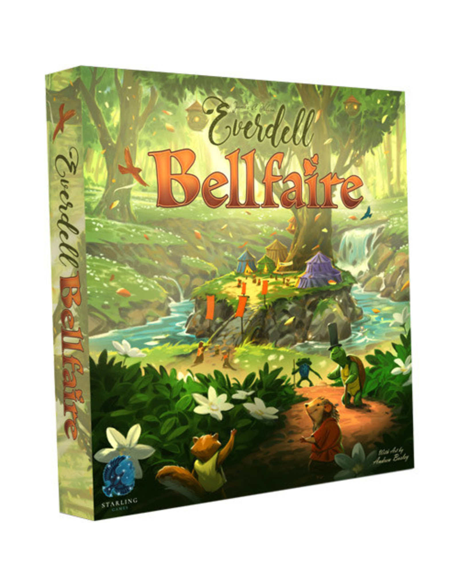 Game Salute Everdell: Bellfaire Expansion