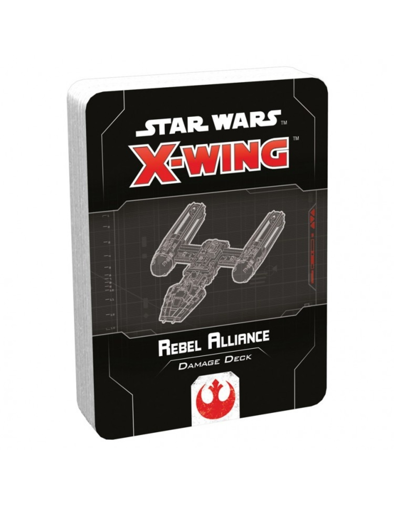 Fantasy Flight Games Star Wars X-Wing 2E: Rebel Alliance Damage Deck