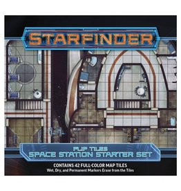 Paizo Publishing Starfinder RPG: Flip-Tiles: Space Station Starter