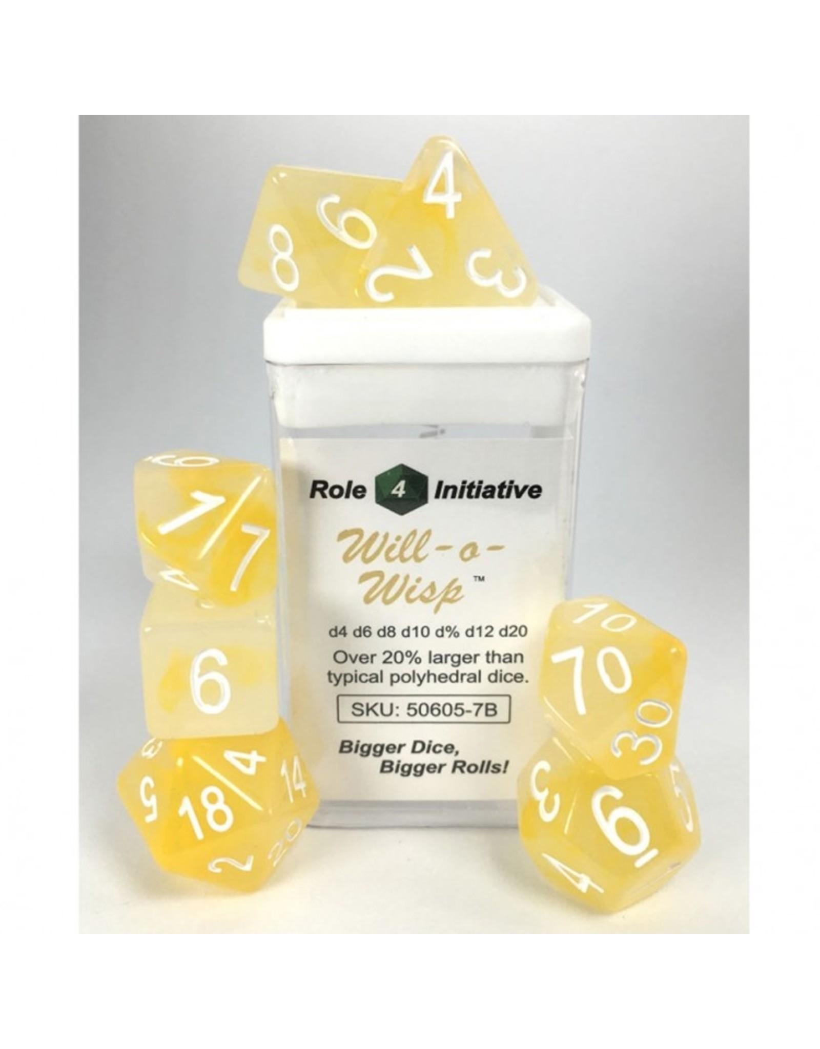 Role 4 Initiative 7-Set: Will-o-Wisp