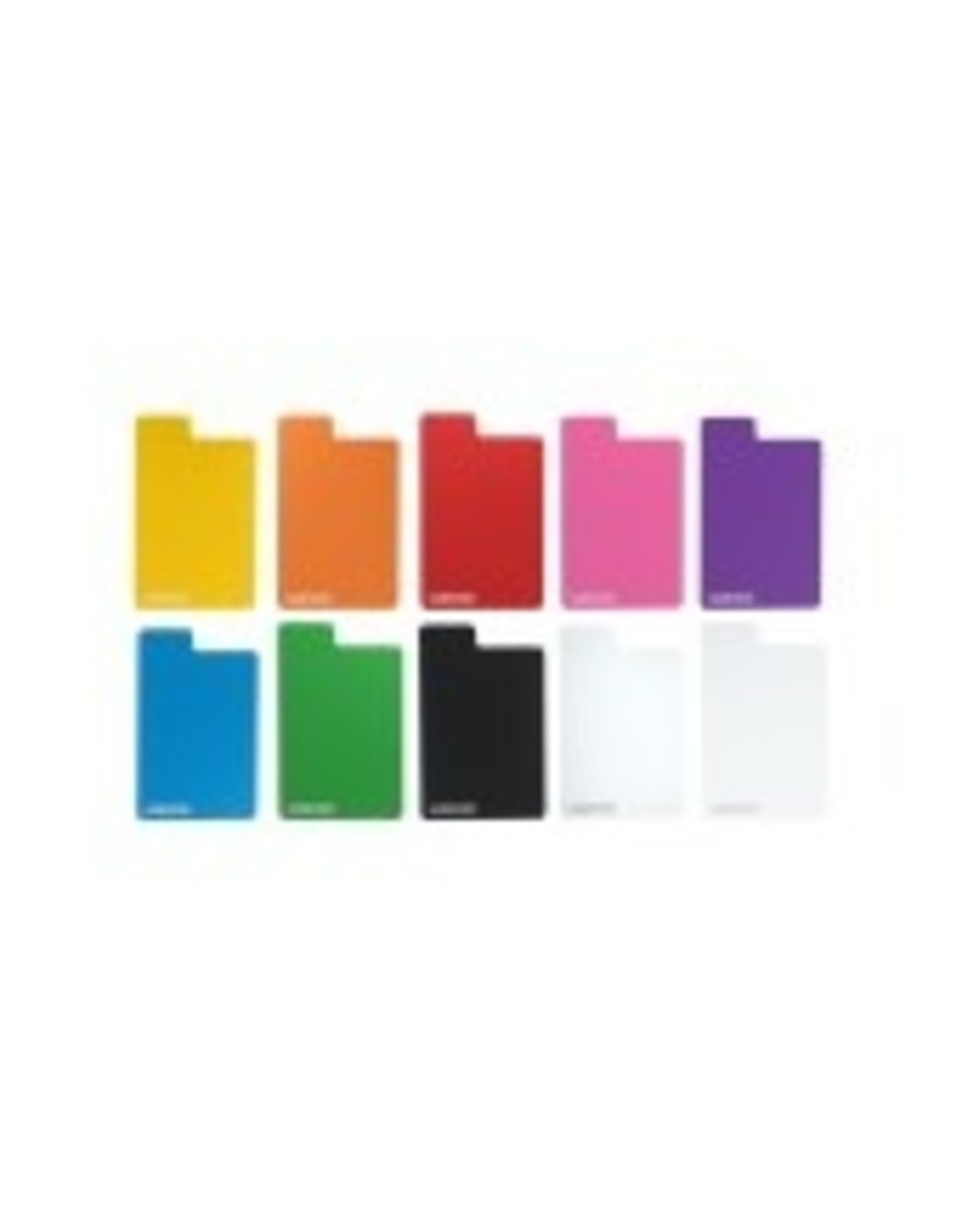 GameGenic Flex Card Dividers: Multicolor Pack