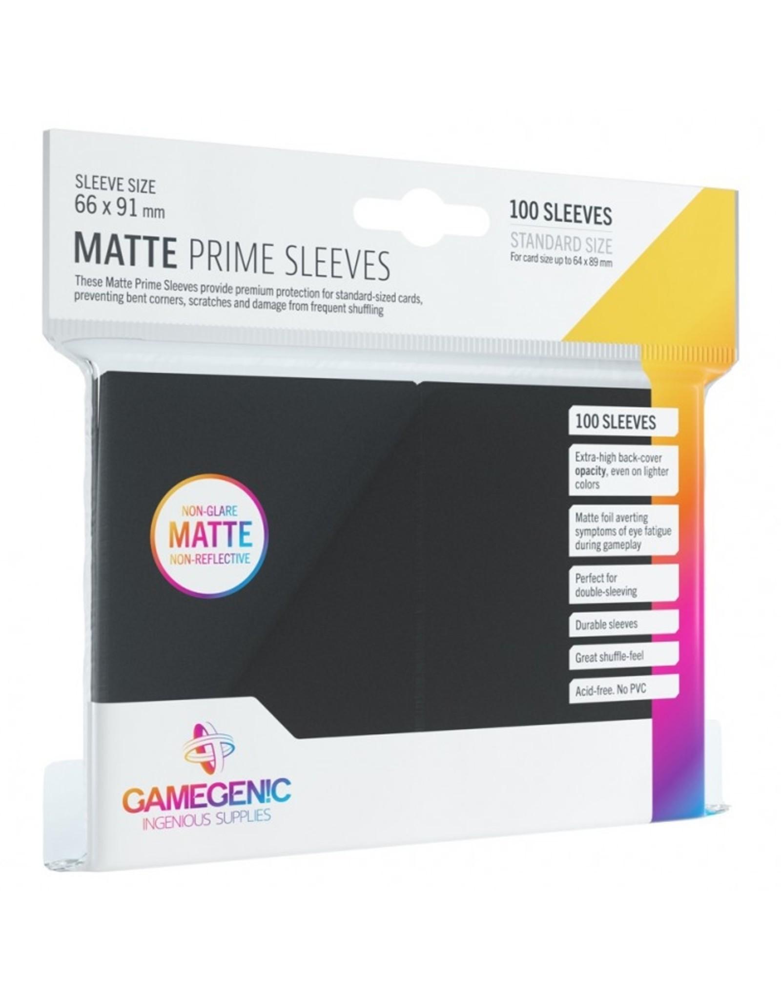 GameGenic Deck Protector: Matte Prime: BK (100)