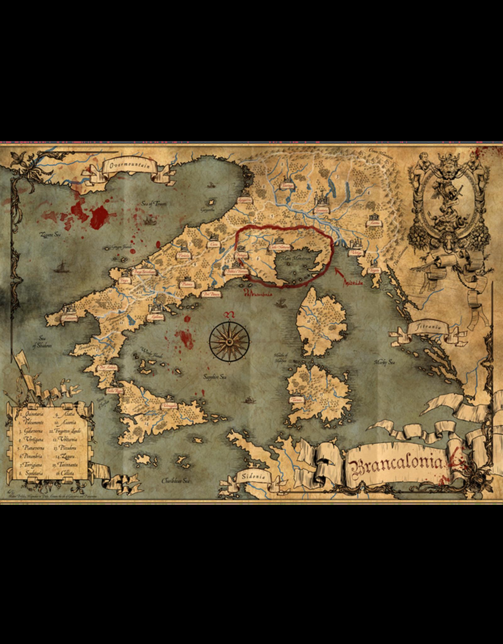 Role Playing Brancalonia RPG + Macaronicon (Kickstarter Pre Order 1/2021)