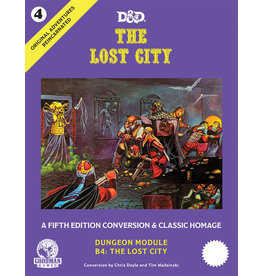 Goodman Games Original Adventures Reincarnated #4 - The Lost City (Pre Order)