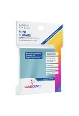 GameGenic Deck Protector: Prime: Mini-Square Dark Blue (50)