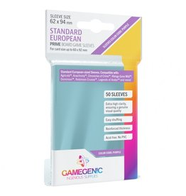 GameGenic Deck Protector: Prime: Standard European Purple (50)