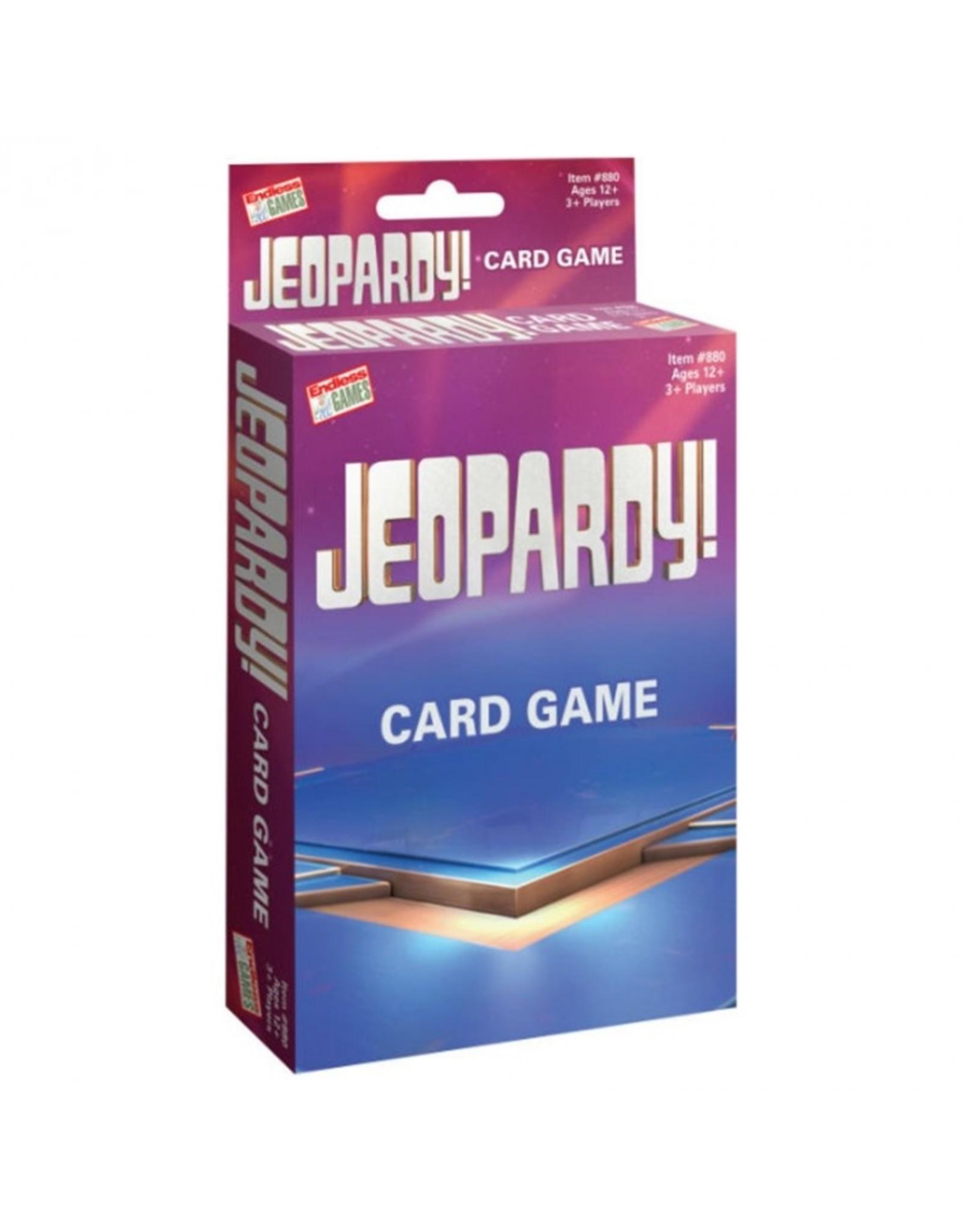 Jeopardy! Card Game