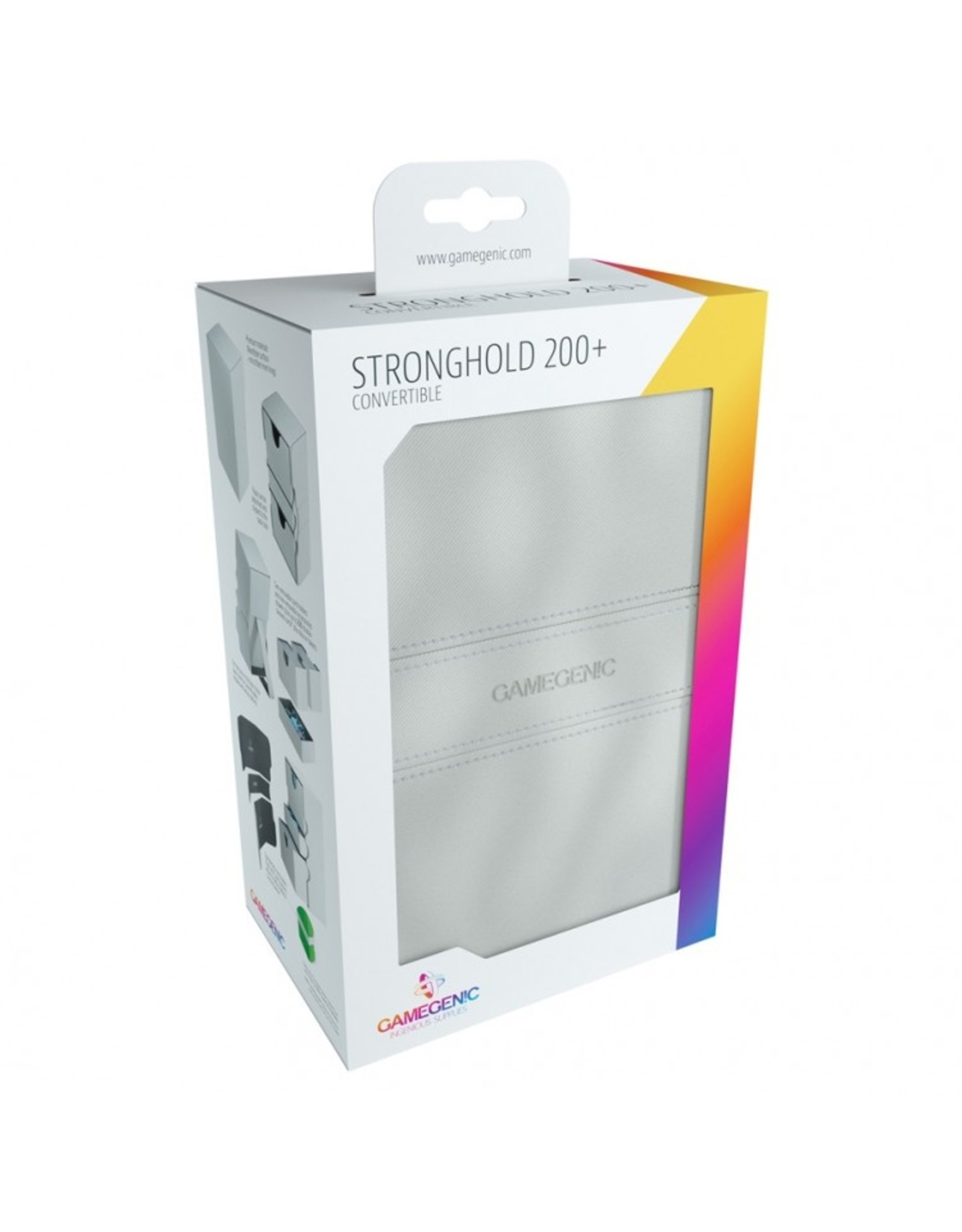 GameGenic Deck Box: Stronghold Deck Box 200+ WH