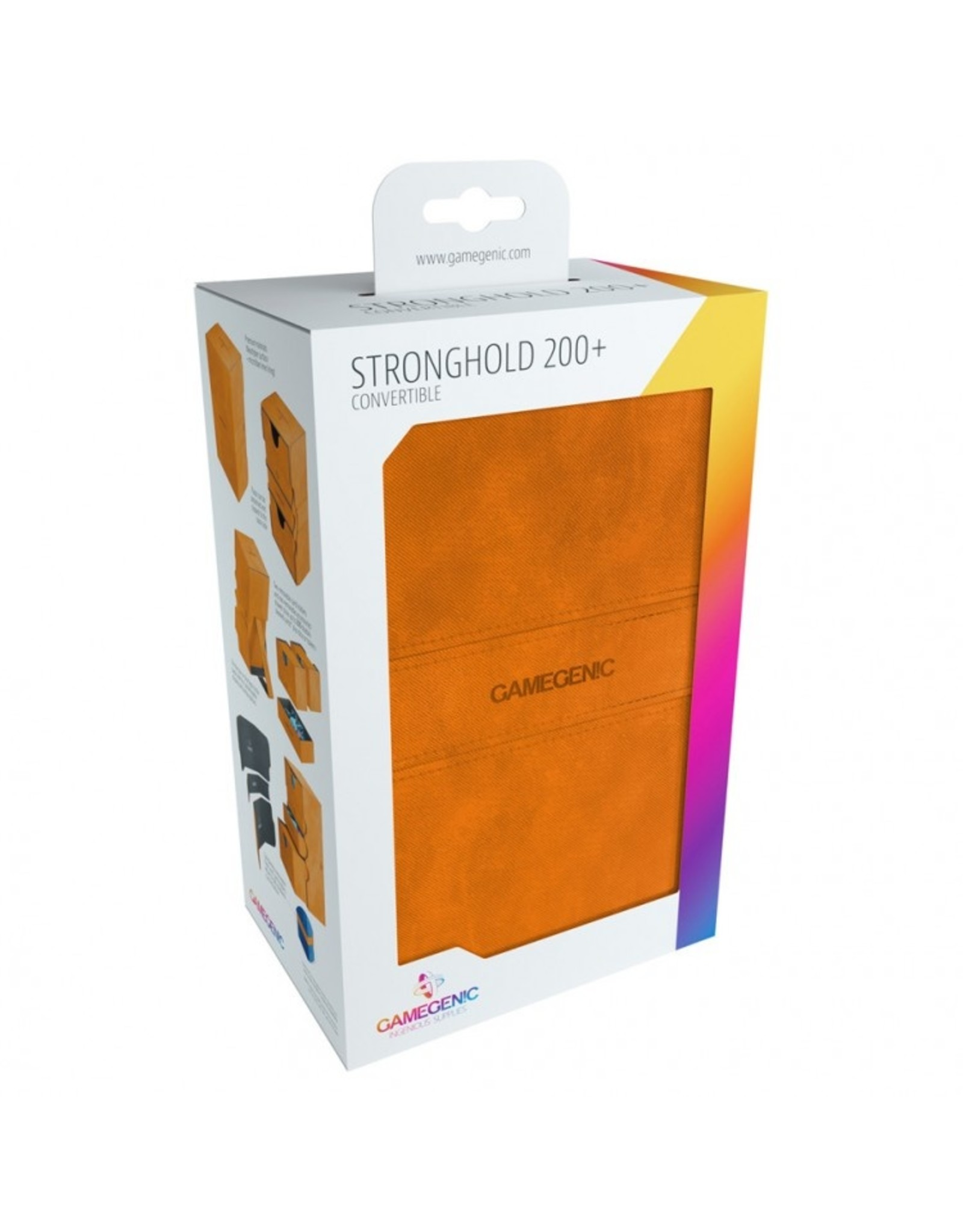 GameGenic Deck Box: Stronghold Deck Box 200+ OR