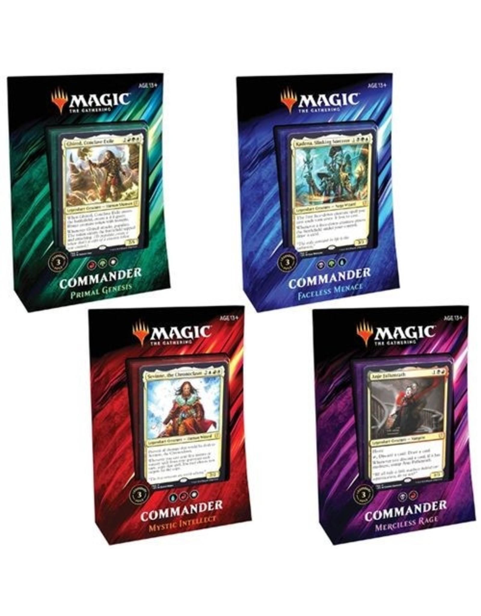 Magic Magic: Commander 2019: Case of 4
