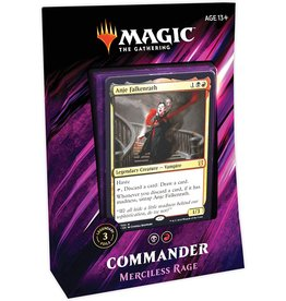 Wizards of the Coast Magic: Commander 2019 - Merciless Rage