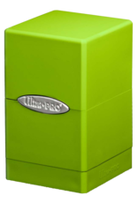 Ultra Pro Ultra PRO Deck Box-Satin Tower Lime Green
