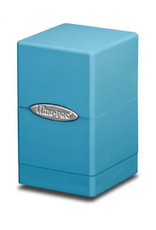 Ultra Pro Deck Box: Satin Tower Lt Blue