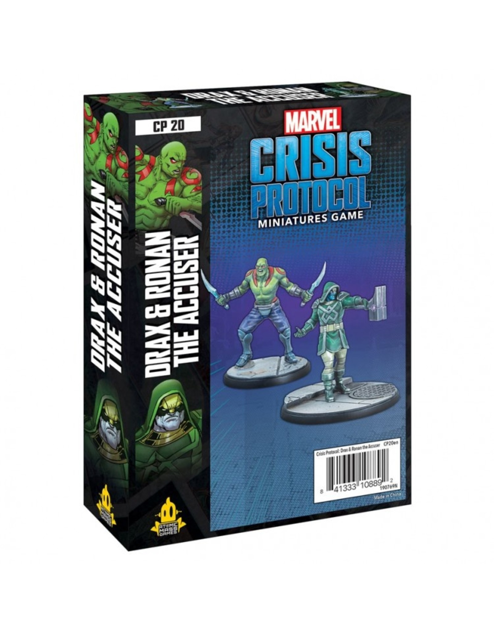 Asmodee Marvel: Crisis Protocol - Drax and Ronan the Accuser Character Pack