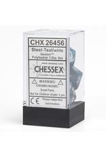 Chessex 7-Set Polyhedral CubeGemini#6 STTLwh