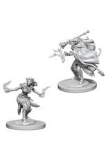 Wiz Kids D&D NMU: Female Tiefling Warlock W6