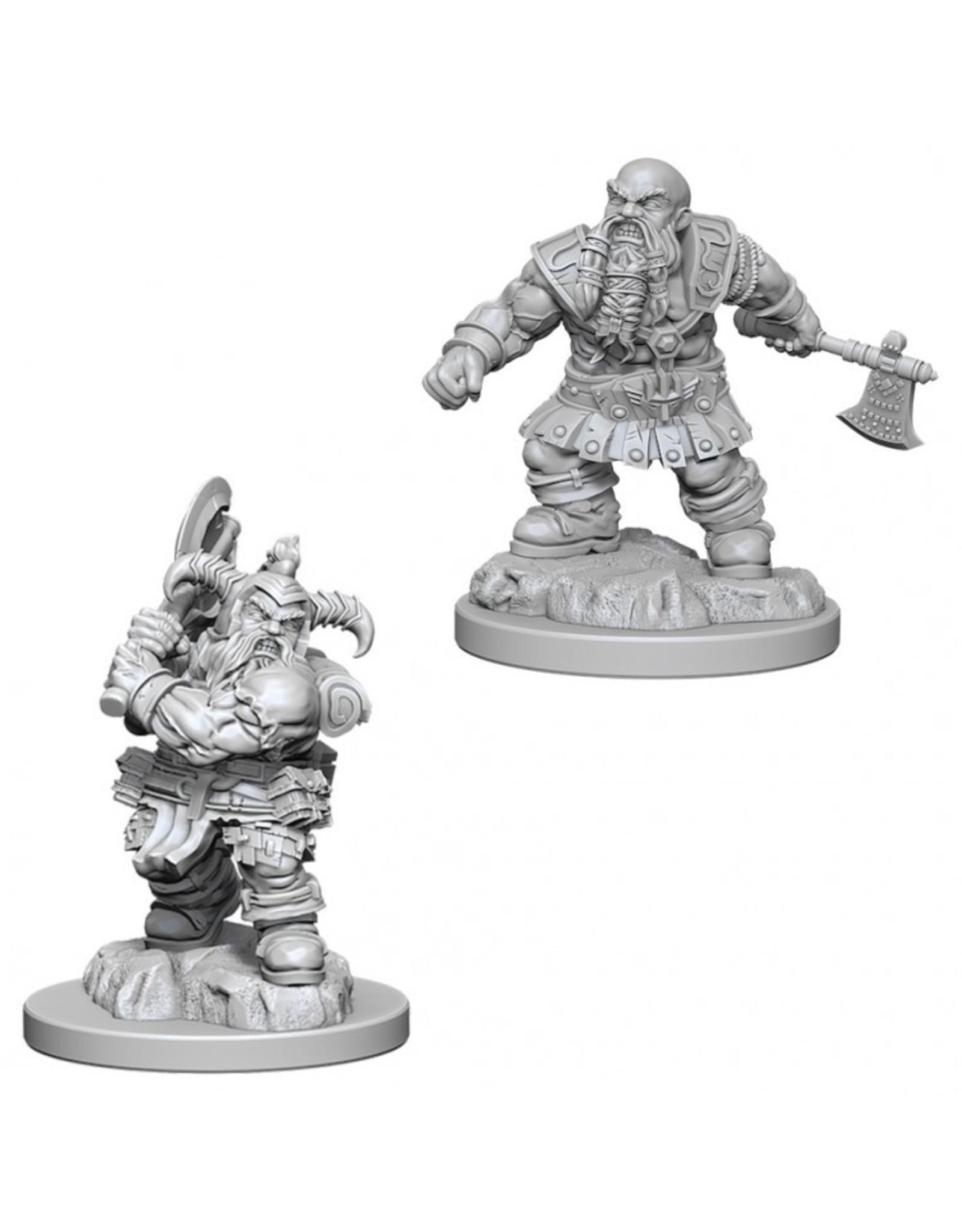 Wiz Kids D&D NMU: Male Dwarf Barbarian W6