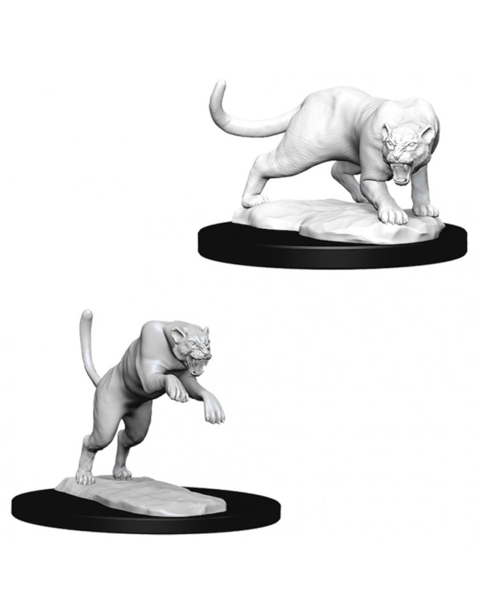 Wiz Kids D&D NMU: Panther & Leopard W6