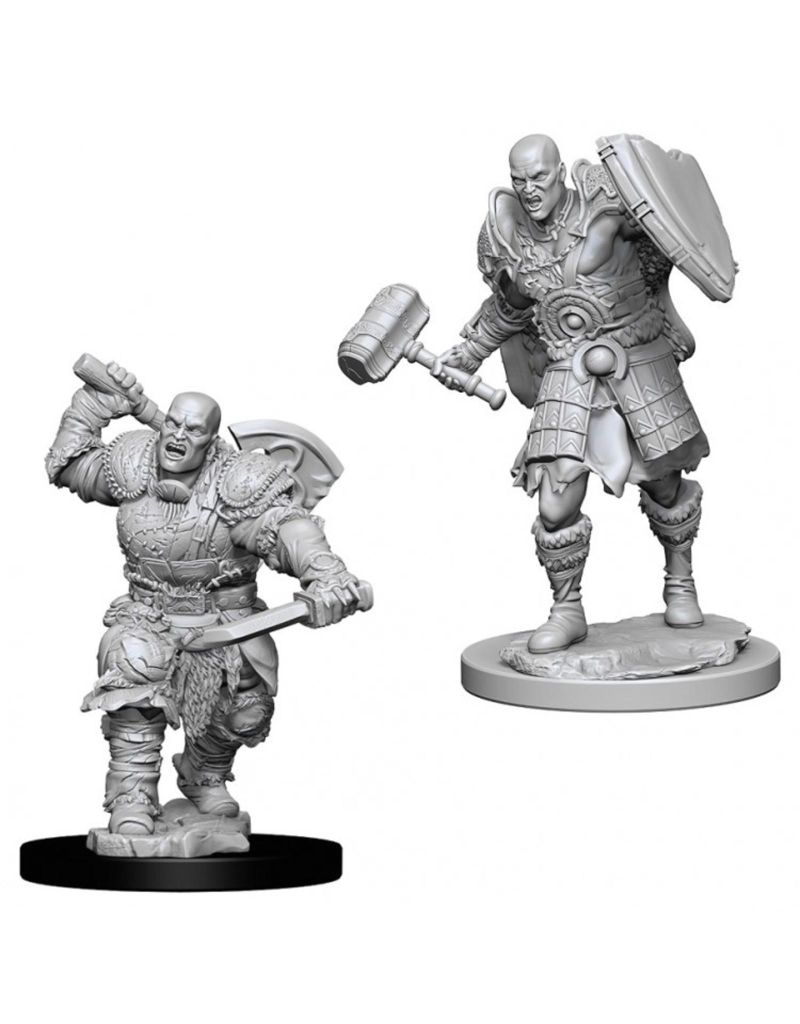 Wiz Kids D&D NMU: Male Goliath Fighter W7