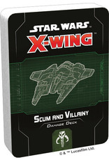 Fantasy Flight Games Star Wars X-Wing: 2nd Edition - Scum and Villainy Damage Deck
