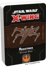 Atomic Mass Games Star Wars X-Wing: 2nd Edition - Resistance Damage Deck