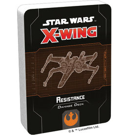 Fantasy Flight Games Star Wars X-Wing: 2nd Edition - Resistance Damage Deck