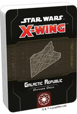 Fantasy Flight Games Star Wars X-Wing: 2nd Edition - Galactic Republic Damage Deck