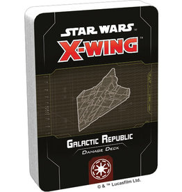 Atomic Mass Games Star Wars X-Wing: 2nd Edition - Galactic Republic Damage Deck