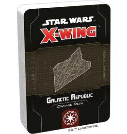 Fantasy Flight Games Star Wars X-Wing: 2nd Edition - Galactic Republic Damage Deck