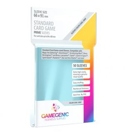 GameGenic Deck Protector: Prime: Standard Card Game Grey (50)