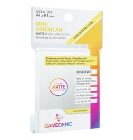 GameGenic Deck Protector: Matte: Mini American Yellow (50)