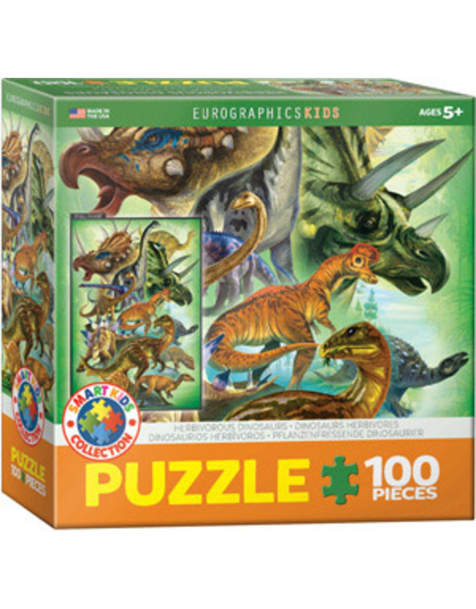 Eurographics Herbivorous Dinosaurs