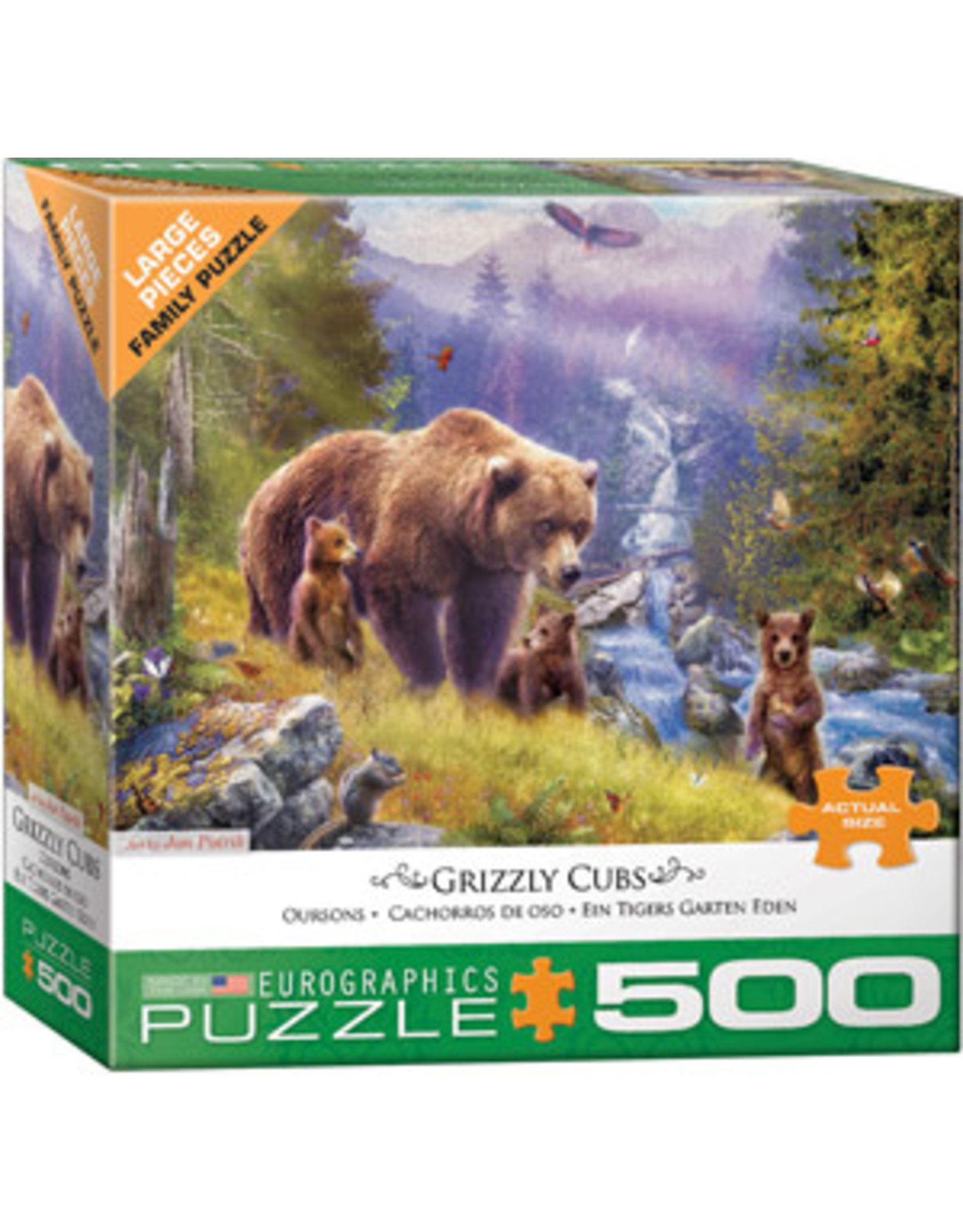 Eurographics Grizzly Cubs