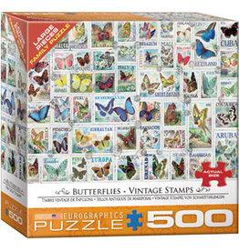 Eurographics Butterflies Vintage Stamps