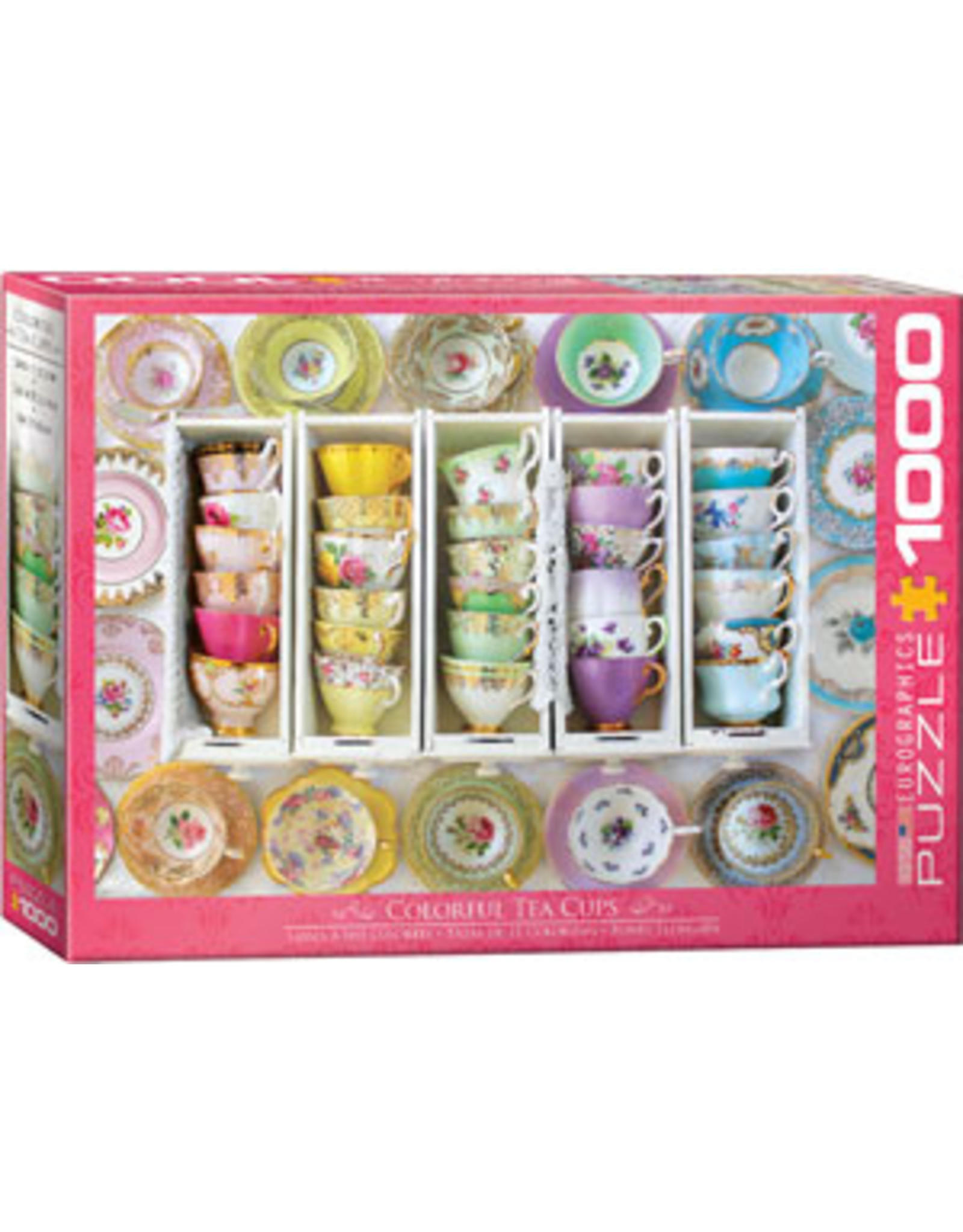 Eurographics Colorful Tea Cups