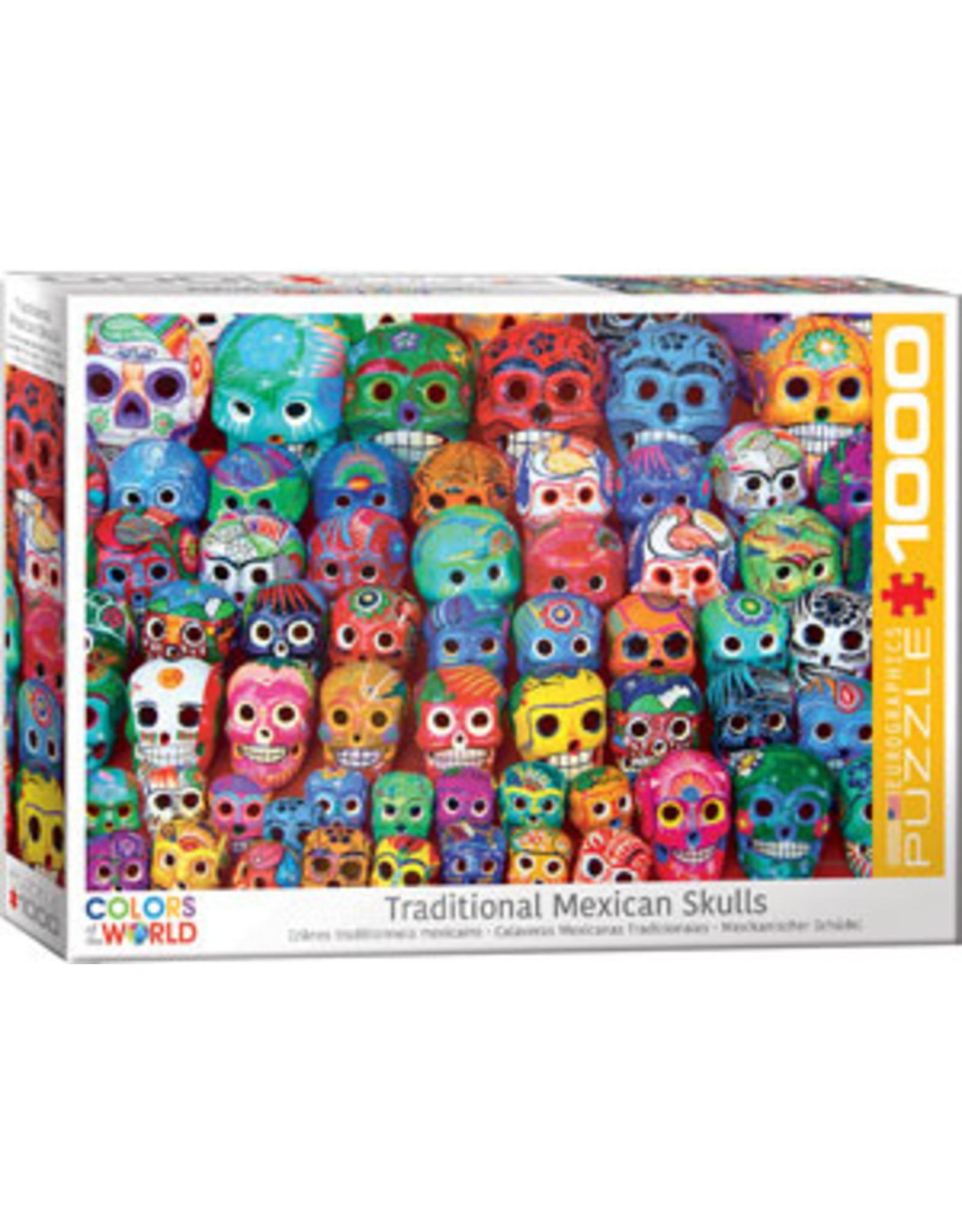 Eurographics Traditional Mexican Skulls