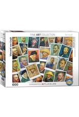 Eurographics Van Gogh Selfies