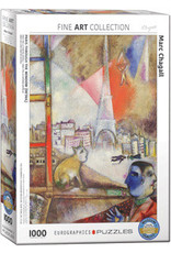 Eurographics Paris through the Window (Detail)