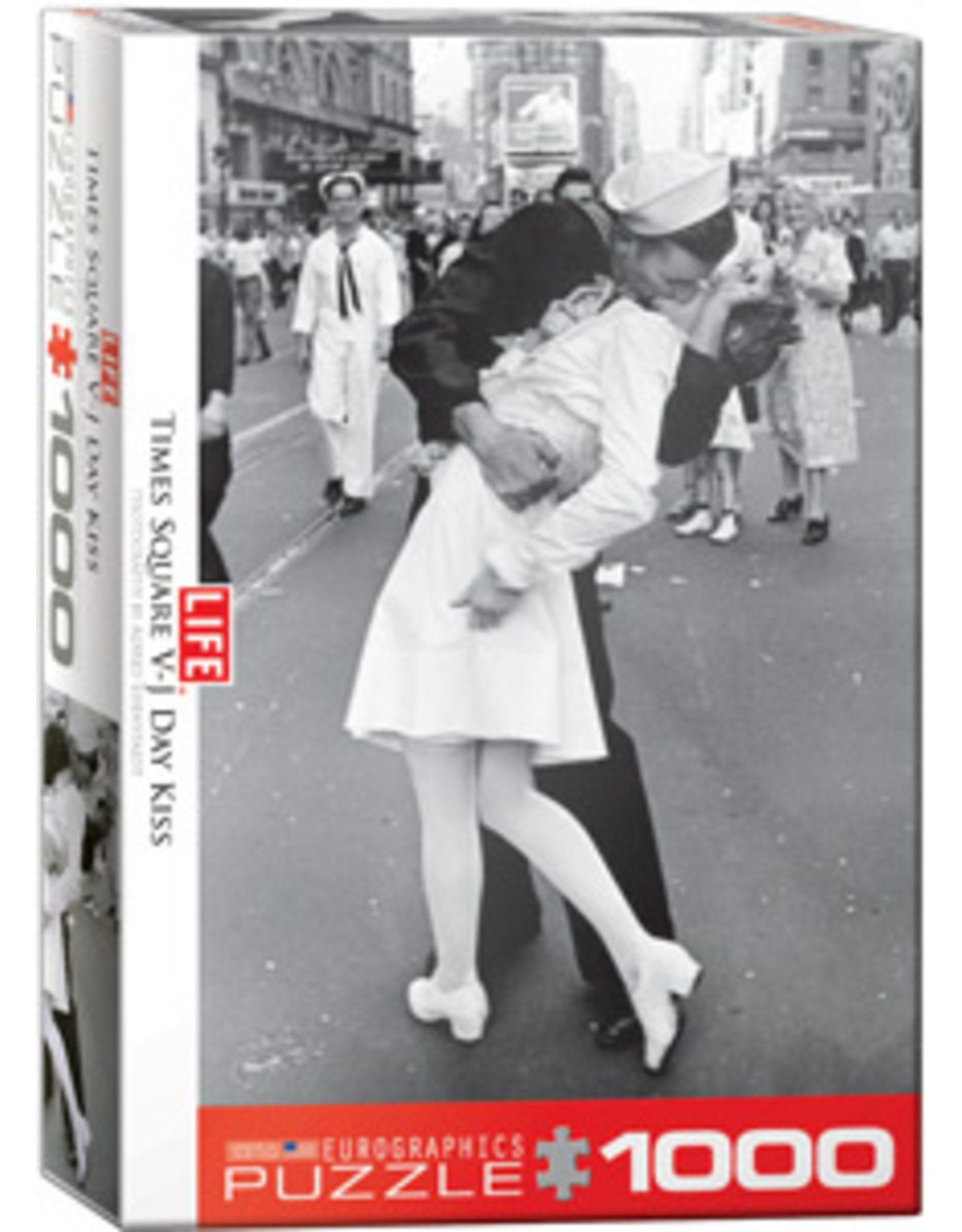 Eurographics LIFE V-J Day Kiss in Times Square