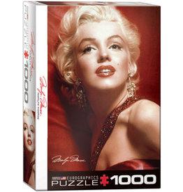 Marilyn Monroe Red Portrait