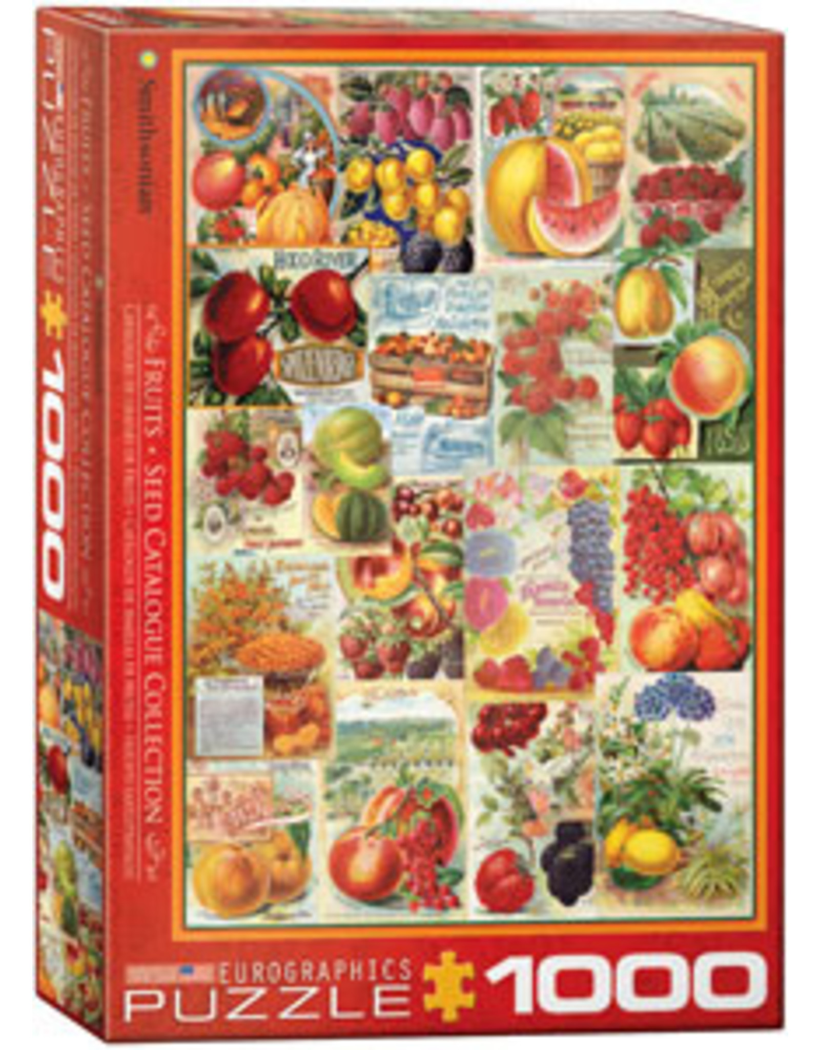 Eurographics Fruits Seed Catalog Collection