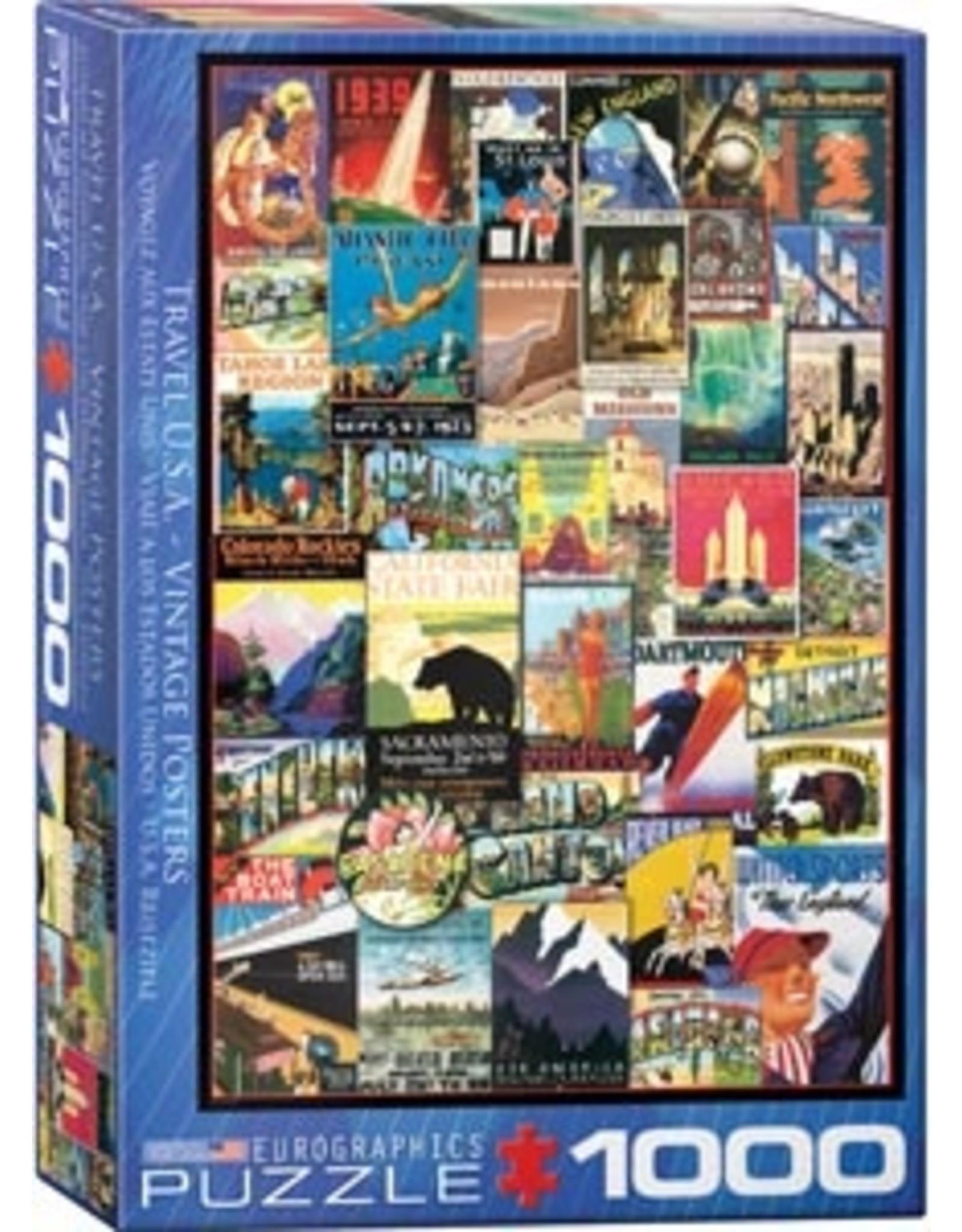 Eurographics Travel USA Vintage Posters