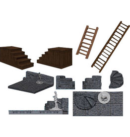 Wiz Kids WarLock Tiles: Stairs & Ladders