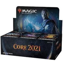 Magic MtG:  Core 2021 Draft Booster Display
