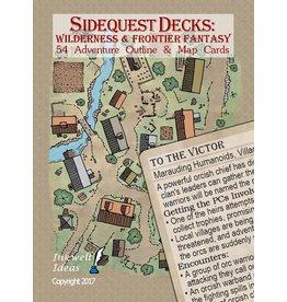 Indie Press Revolution Sidequest Decks: Wilderness & Frontier Fantasy