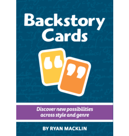 Indie Press Revolution Backstory Cards, vol.2
