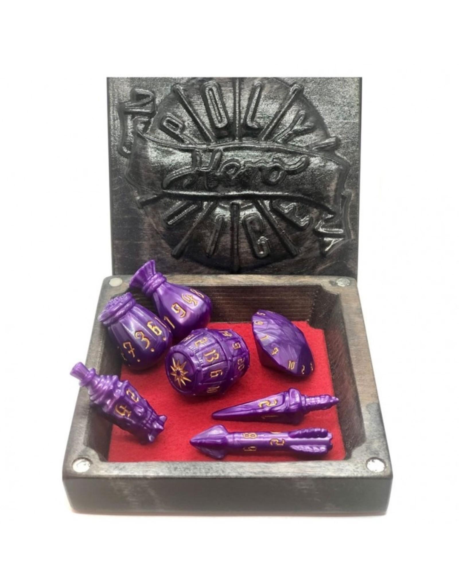 Dice: Rogue: Palace Purple