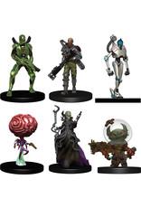 Wiz Kids Starfinder Battles: Starter Pack - Monster Pack - Heroes Pack