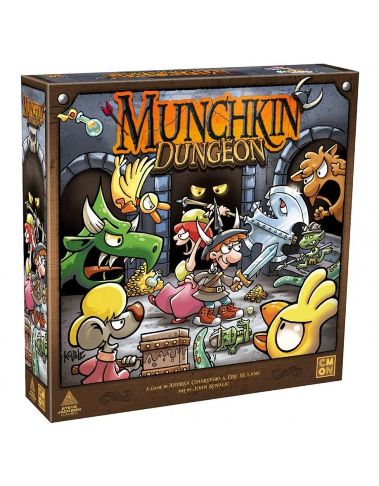 Cool Mini or Not Munchkin Dungeon